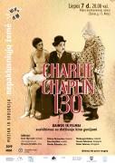 AFIŠA: Liepos 7 d.Charlie Chaplin