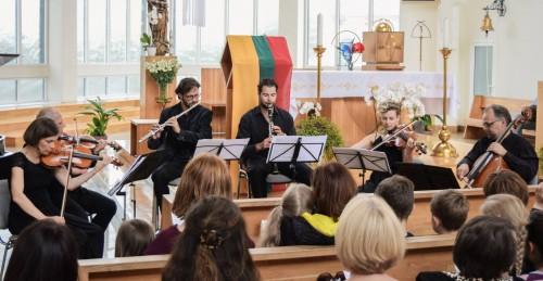koncertas bažnyčioje